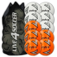 Impel Mixed Orange & White 10 Ball Deal Plus FREE Bag