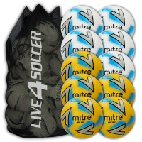 Impel Max White & Yellow Mixed 10 Ball Deal Plus FREE Bag