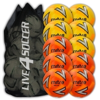 Impel Plus Mixed Yellow & Orange 10 Ball Deal + FREE Bag
