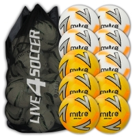 Impel Plus Mixed White & Yellow 10 Ball Deal + FREE Bag