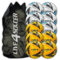 Ultimatch White & Yellow Mixed 10 Ball Deal Plus FREE Bag