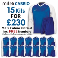 Cabrio 15 Kit Deal - Royal/White