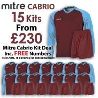 Cabrio 15 Kit Deal - Maroon/Sky