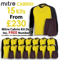 Cabrio 15 Kit Deal - Yellow/Black