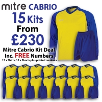 Cabrio 15 Kit Deal - Yellow/Royal