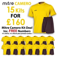 Camero 15 Kit Deal - Yellow