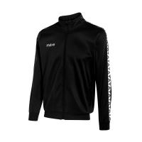 Delta Poly Track Jacket - Black/White