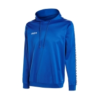 Delta Poly Hoody - Royal Blue/White