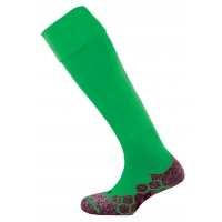 Division Plain Socks - Emerald