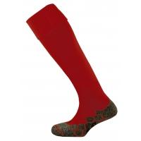 Division Plain Socks - Maroon