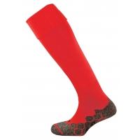 Division Plain Socks - Scarlet