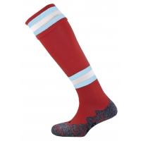 Division Tec Socks - Maroon/Sky/White