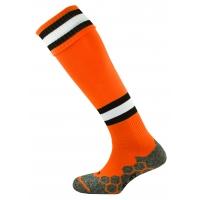 Division Tec Socks - Tangerine/Black/White