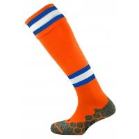 Division Tec Socks - Tangerine/Royal/White