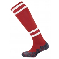 Division Tec Socks - Maroon/White/Maroon