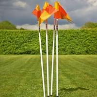 Foldable Corner Flag & Pole Set