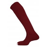 Mercury Plain Socks - Maroon