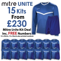 Unite 15 Kit Deal - Royal/White