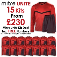 Unite 15 Kit Deal - Scarlet/Black