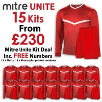 Unite 15 Kit Deal - Scarlet/White