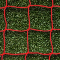 Youth - 21ft x 7ft - Red 4mm Heavy Duty Goal Net