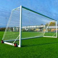 Junior Europa Portable Goal (21ft x 7ft) - PAIR