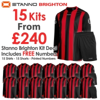 Brighton 15 Kit Deal - Red/Black