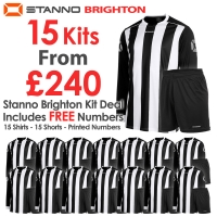 Brighton 15 Kit Deal - Black/White