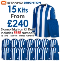 Brighton 15 Kit Deal - Royal/White