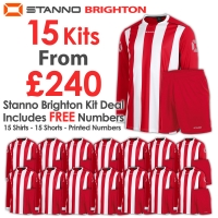 Brighton 15 Kit Deal - Red/White