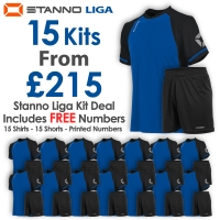 Liga 15 Kit Deal - Royal/Black