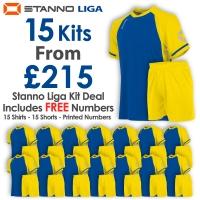 Liga 15 Kit Deal - Royal/Yellow