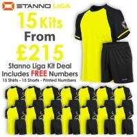 Liga 15 Kit Deal - Neon Yellow/Black
