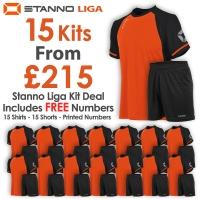 Liga 15 Kit Deal - Shocking Orange/Black