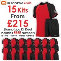 Liga 15 Kit Deal - Red/Black