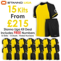 Liga 15 Kit Deal - Yellow/Black