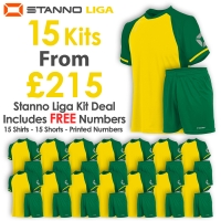 Liga 15 Kit Deal - Yellow/Green