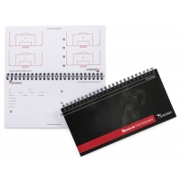 A5 Football Slimline Scouts Notepad (Pack 6)