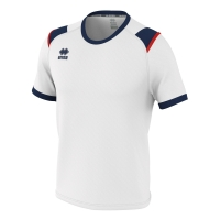 Lex Jersey - White/Navy/Red