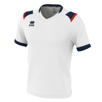 Lucas Jersey - White/Navy/Red